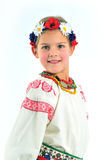 Girl national costume Stock Image