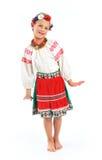 Girl national costume. Girl in Ukrainian national costume Stock Photos