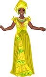 Girl in national dress Stock Image
