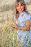 Girl on natural background Stock Photography