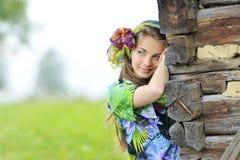 Girl in nature Stock Photos