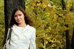 Girl and nature Stock Photos