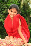 A girl next door. A smart Indian girl with her charming and fresh smile Stock Images