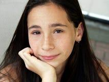 Girl next door. Portrait of a girl Royalty Free Stock Image