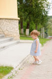 Girl in Nice Dress Royalty Free Stock Images