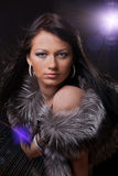 Girl in the nightclub Stock Photo