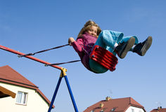 Free Girl On Swing Royalty Free Stock Photography - 9677927