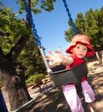 Girl ona swing Royalty Free Stock Photos