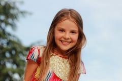 Girl outddor Stock Image