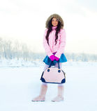 Girl outdoor Stock Image