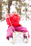 Girl outdoor Royalty Free Stock Images