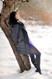 Girl outdoor Royalty Free Stock Photos