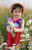 Girl outdoor Royalty Free Stock Photo