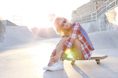 Girl outdoor Stock Images