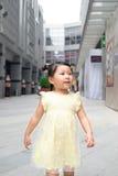 Girl outside the emporium Stock Photos