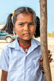 Girl from Pamban Island Royalty Free Stock Images
