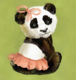 Girl Panda Royalty Free Stock Photo