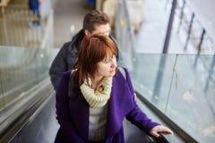 Girl in Parisian metro Stock Photo