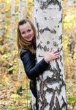 Girl in park royalty free stock photos