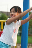 Girl at the park stock image