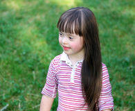 Girl in the park. Stock Photography