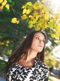 Girl at park Royalty Free Stock Photo
