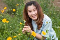 Girl in the park Stock Image