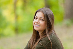 The girl in park Royalty Free Stock Photography