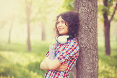 Girl in the park. Royalty Free Stock Photos