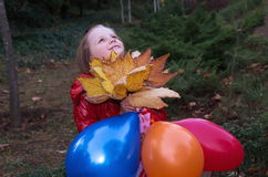 Girl in park Royalty Free Stock Photography