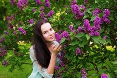 Girl in park. Royalty Free Stock Photos
