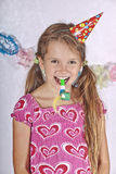 Girl at a party Royalty Free Stock Photos
