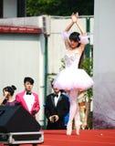 girl  performing ballet Stock Photo