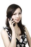 Girl on phone Stock Photos