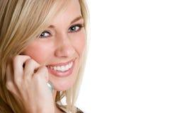Girl on Phone Stock Photography