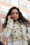 Girl On The Phone Stock Photography