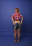Girl in photo studio Stock Photo