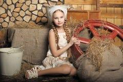 Country girl stock photos