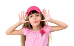 The girl in pink Royalty Free Stock Photography