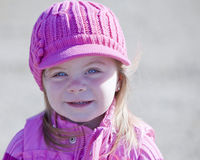 Girl in pink Royalty Free Stock Photos