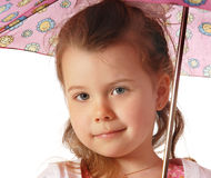 Girl in Pink Royalty Free Stock Images