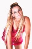 Girl in pink lingerie. Stock Photo