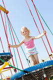 Girl at playground Royalty Free Stock Photos