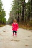 Girl playing Royalty Free Stock Photo