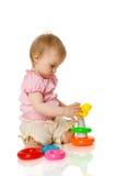 Girl playing Stock Image