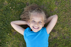 Girl playing Royalty Free Stock Photo