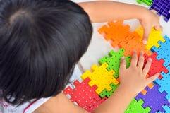 Girl playing. Stock Photos