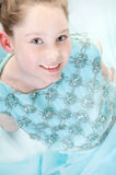 Girl playing dress-up Royalty Free Stock Image