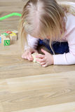 Girl Playing Royalty Free Stock Image