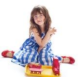 Girl plays Stock Photos